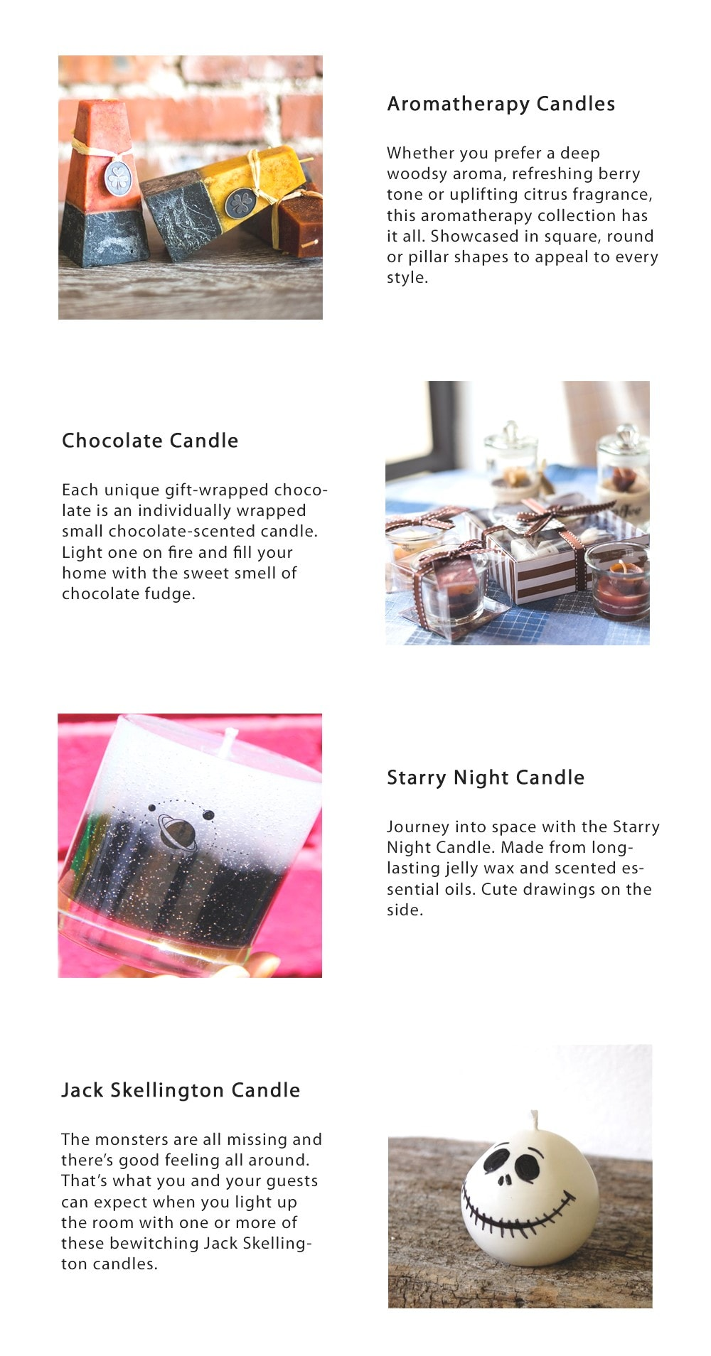 Candle Gift Box: Just For Fun Novelty Candle Sets