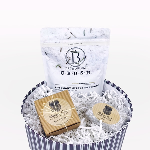 product thumbnail image for Bath Gift Box: Beauty Spa