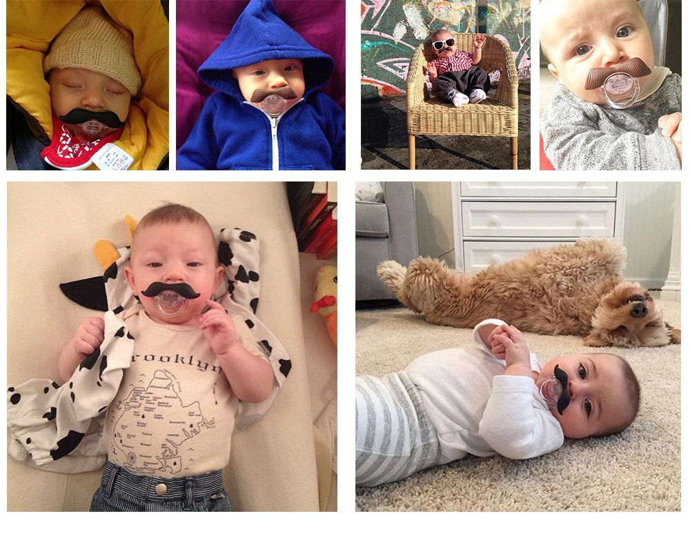 The Gentleman Mustachifier For Your Little Gentleman