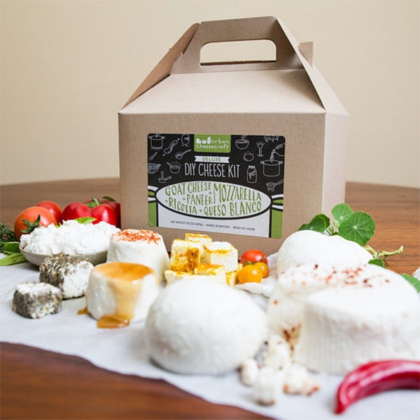 Deluxe DIY Cheese Kit