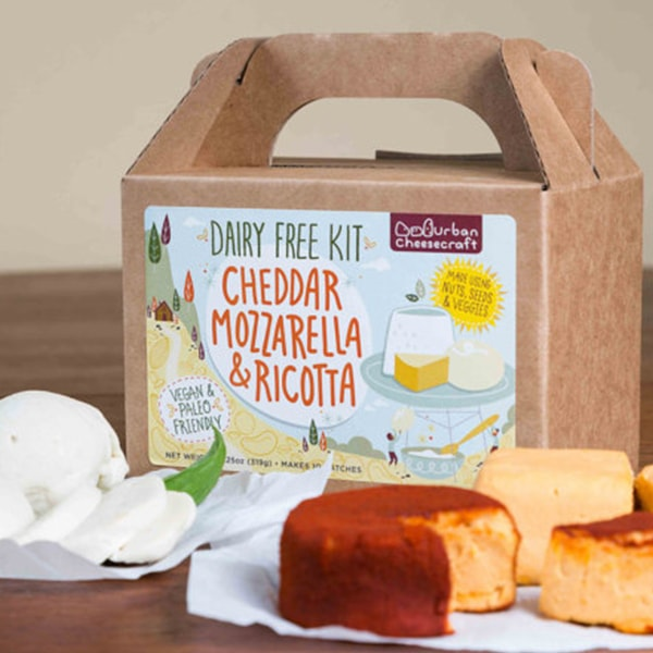 product image for DAIRY FREE Cheddar, Mozzarella & Ricotta DIY Kit