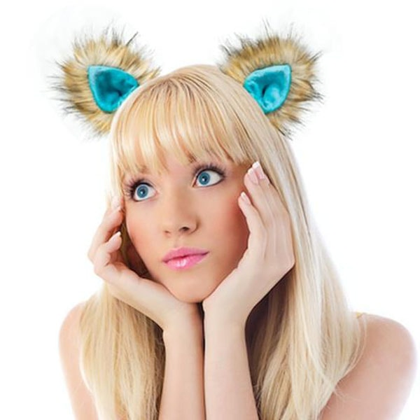 Fantasy and Colorful Ears Hair Clips