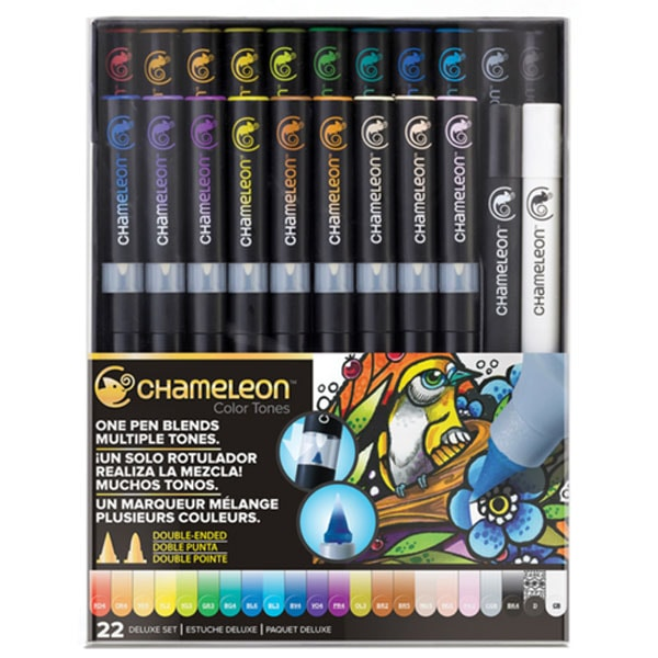 Chameleon Color Tones - 22 pen Deluxe Set