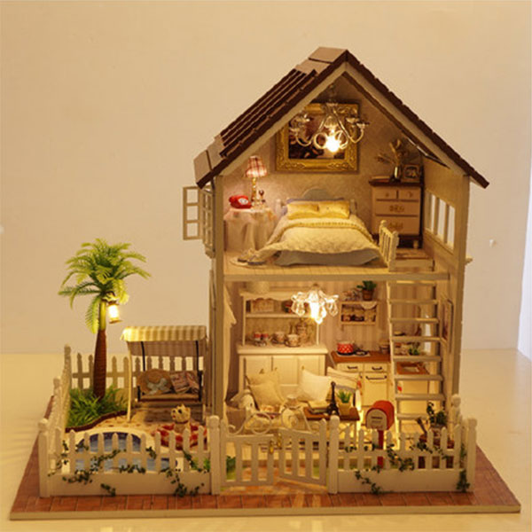 DIY Paris Apartment Wooden Dollhouses