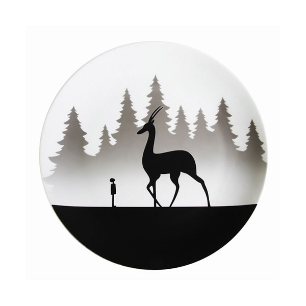 product image for Magic Forest Decorative Plates