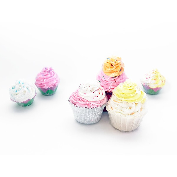 Cupcake Bath Balms - Large Cupcakes
