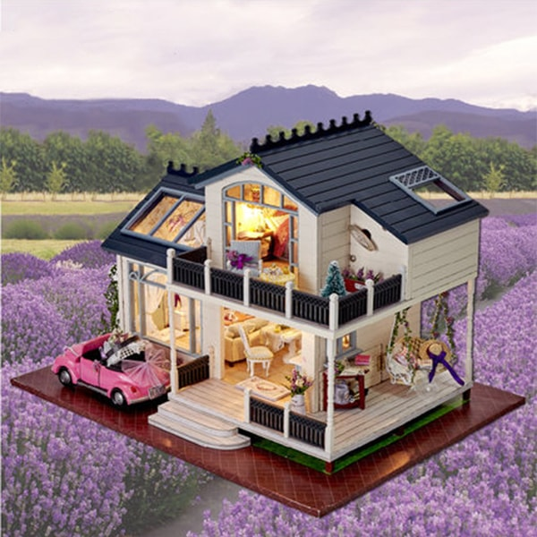 DIY Provence Wooden Dollhouses