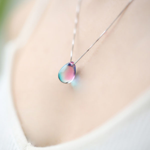 raindrop necklace edita gold canaan color online com