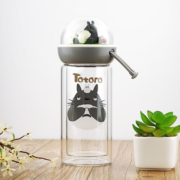 product thumbnail image for Totoro Glass Water Bottles