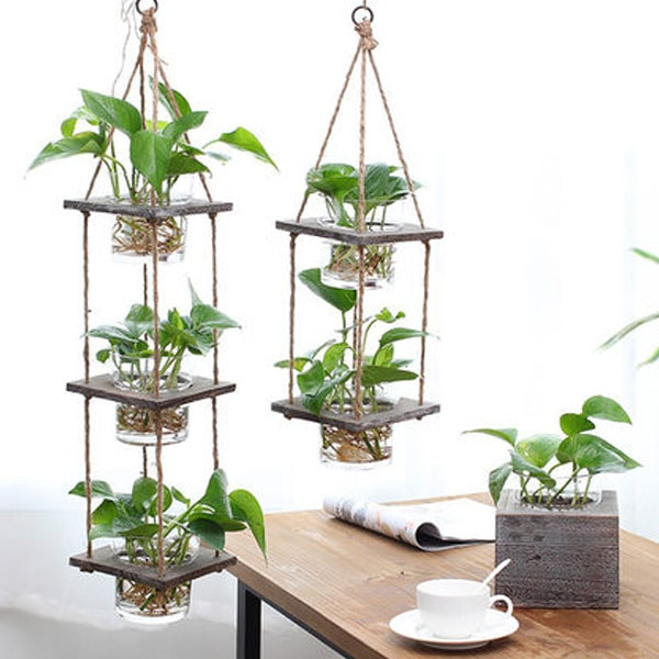 product image for Hanging Wood Planter
