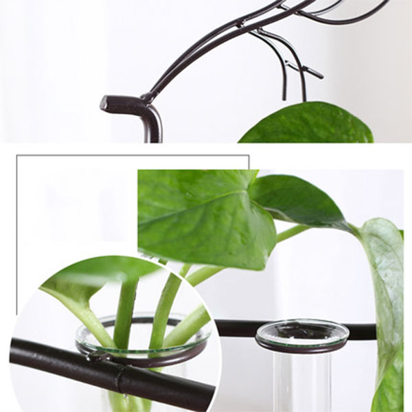 product image for Metal Deer Stand with Test Tube Vases
