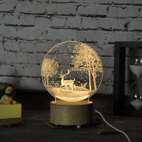 Product Image For 3D LED Night Light