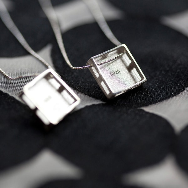 product image for Crystal Square Necklace