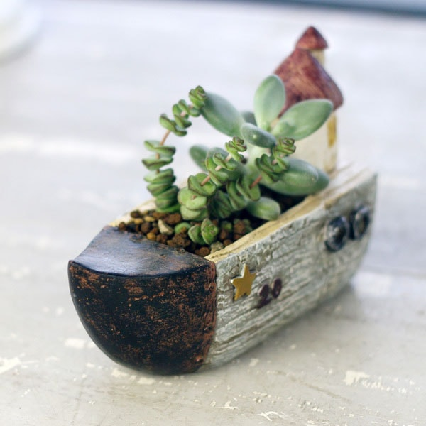 product image for Handmade Resin Planter