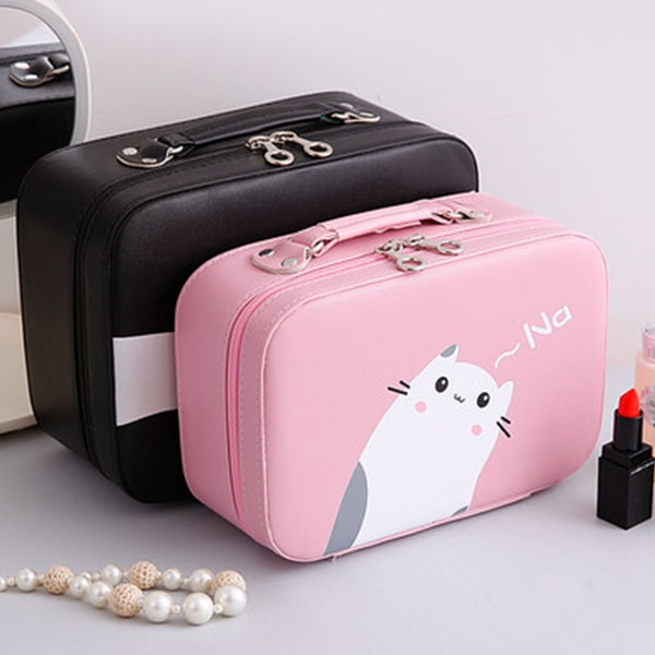 Kitten Cosmetic Bag