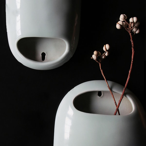 product image for Ceramic Hanging Vase  (Set of 2)