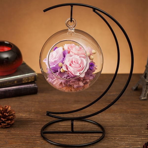 product image for Forever Love Rose Ball with Metal Stand