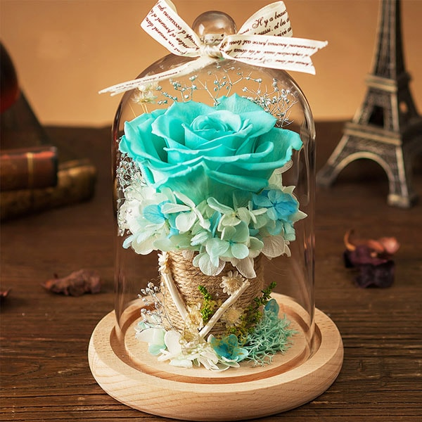 product image for Preserved Rose in Glass Dome