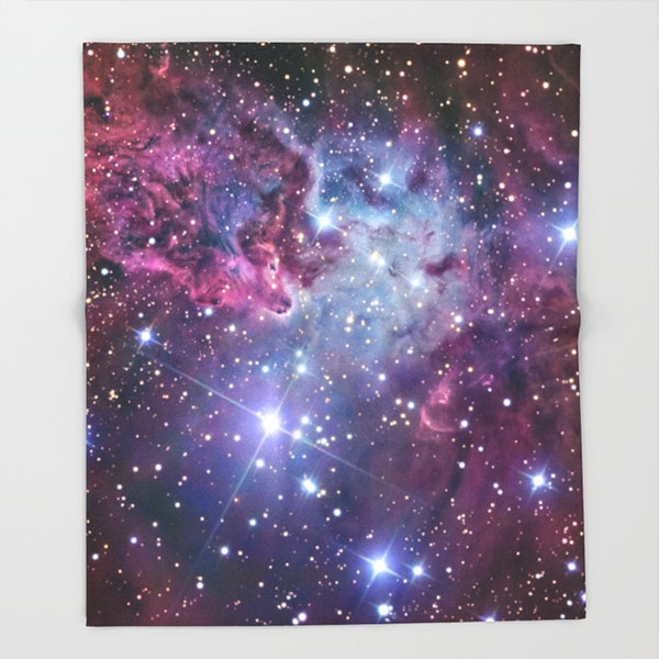"product image for Galaxy Throw Blanket (51"" x 60"")"