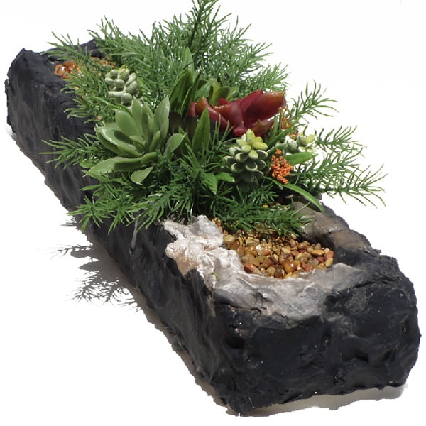 Succulent & Pebble Planter