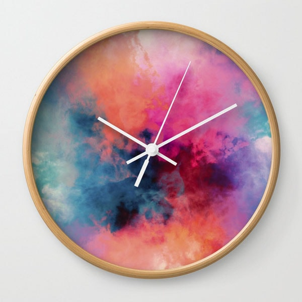 Wall Clock - Temperature