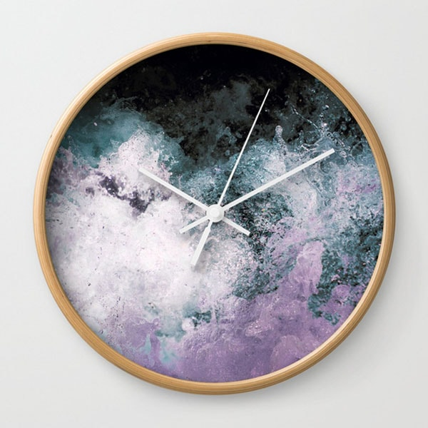 Wall Clock - Soaked Chroma