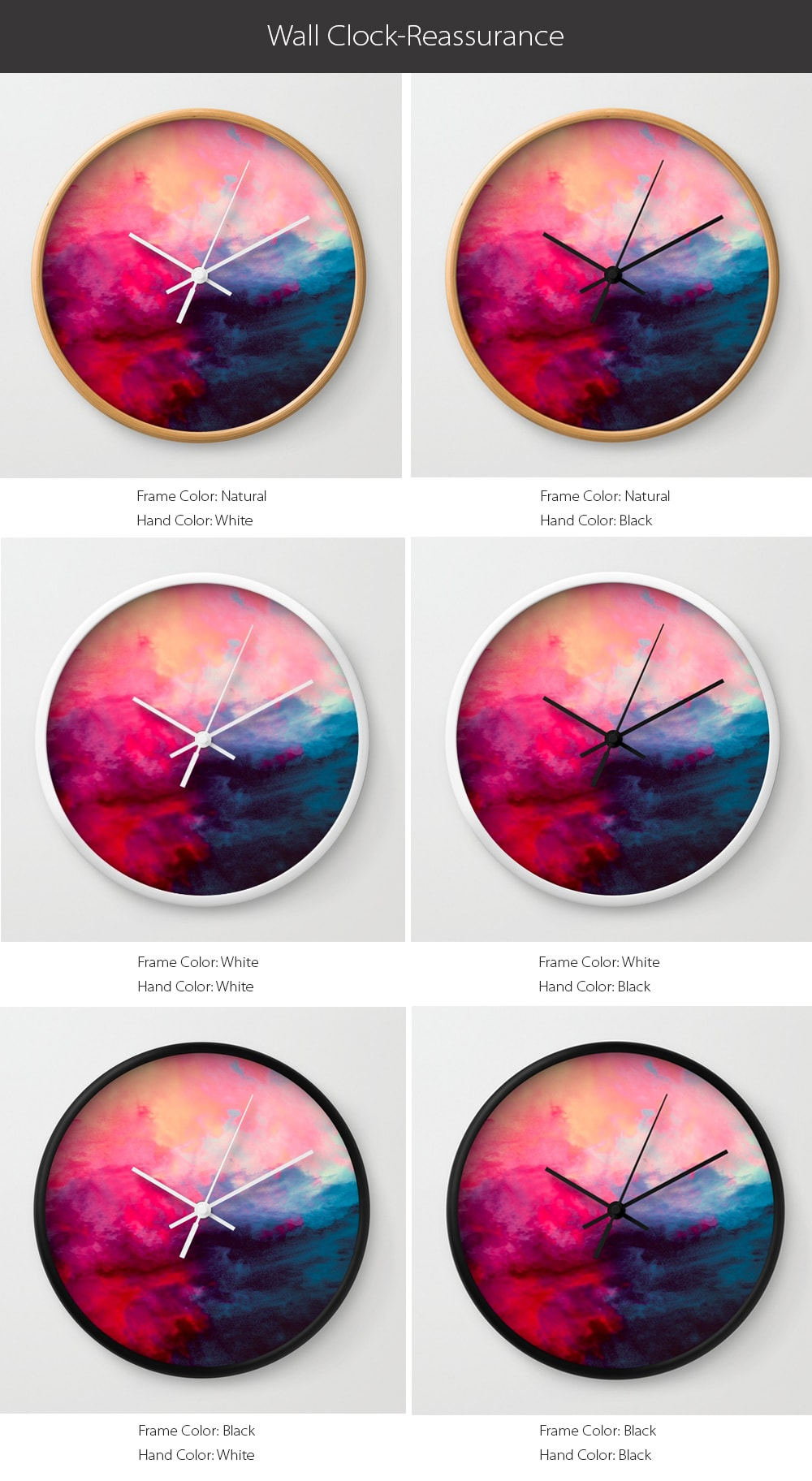 Wall Clock Reassurance Design Special