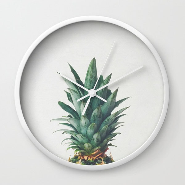 Wall Clock - Pineapple Top