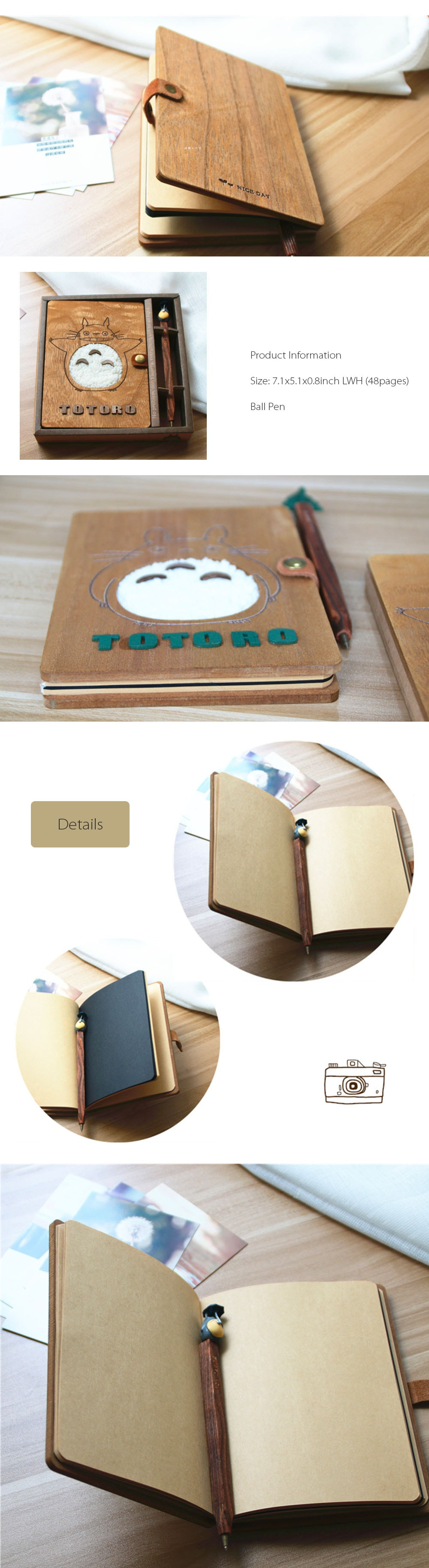 Totoro Notebook Write Down Your Memory