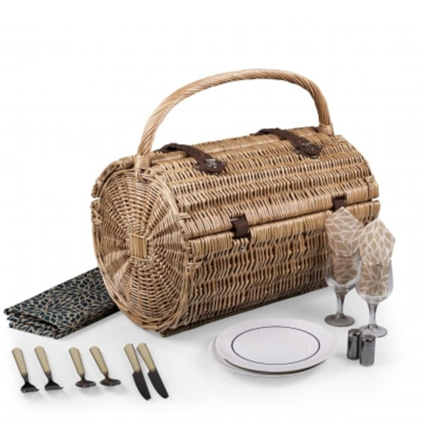 BARREL PICNIC BASKET