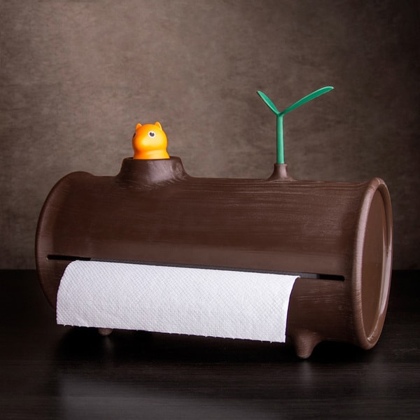 product image for Log Paper Towel Holder