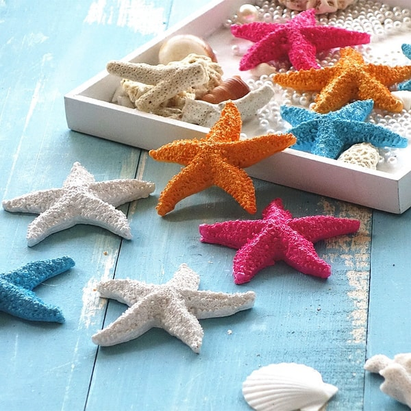 Product Image For Resin Starfish Decorations (Set Of 4)