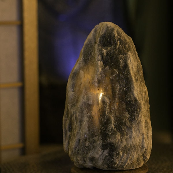 product thumbnail image for  RARE HIMALAYAN GREY SALT LIGHT