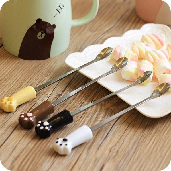product image for Ceramic Coffee Mug and Spoon Set