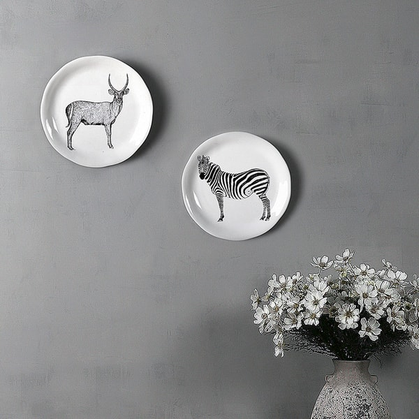 Wall Hanging Ceramic Platter