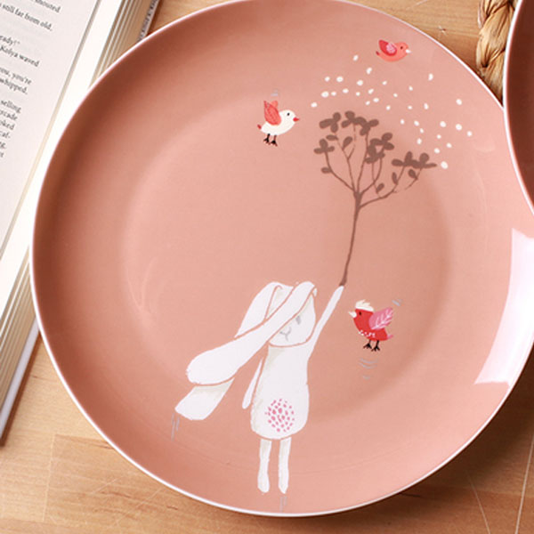 product image for Rabbit Bone China Plate