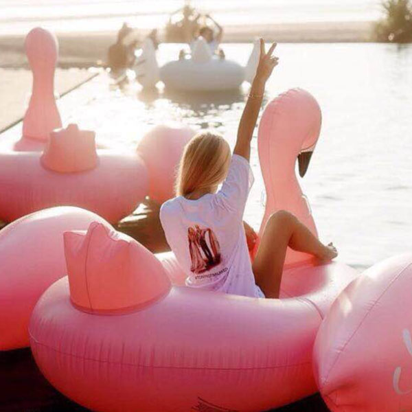 product thumbnail image for Flamingo Float