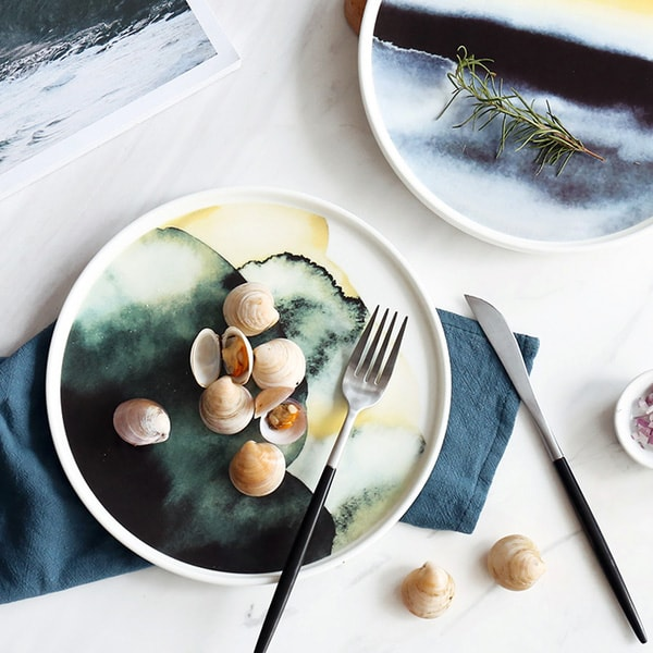 Watercolor Dinnerware