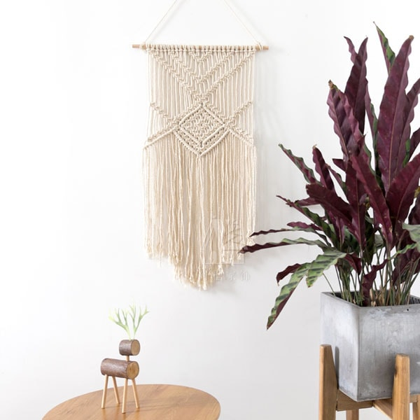 product thumbnail image for Macrame Plant Tapestry