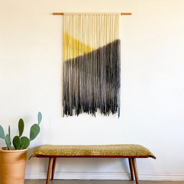 Dip Dyed Wall Tapestry