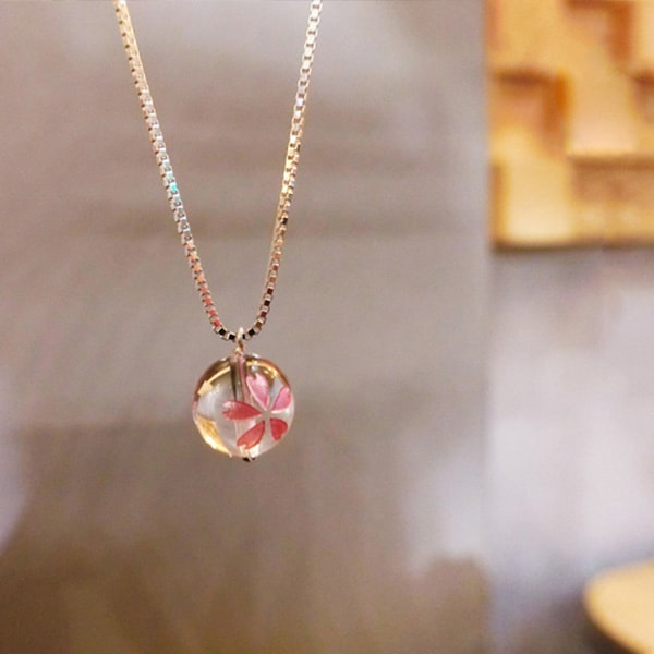 Mizu Sakura Necklace