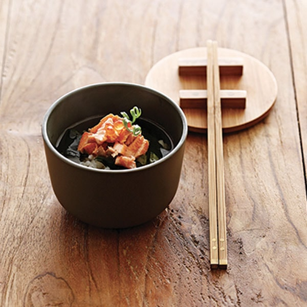 Kkini Bowl & Chopsticks - Set of 2