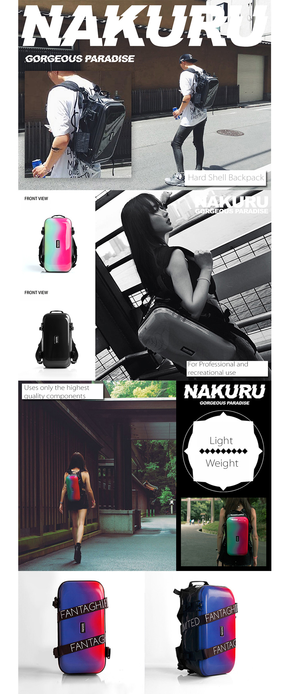 Nakuru Backpack Fancy