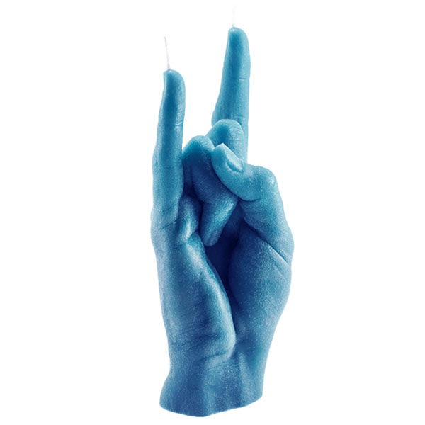 Hand Gesture Candle – You Rock