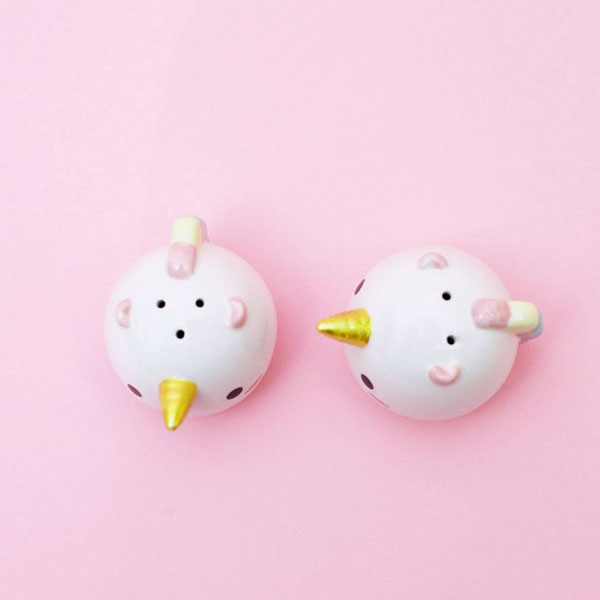product image for Elodie Unicorn Salt & Pepper Shakers