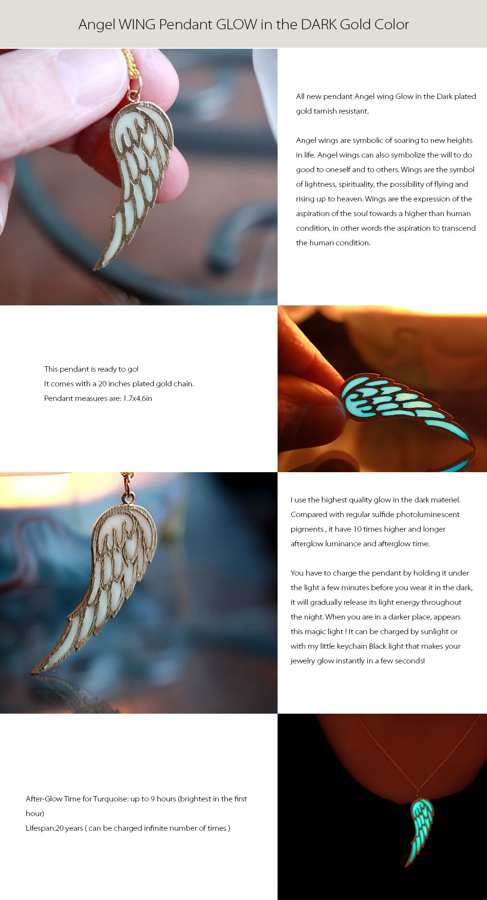 Angel WING Pendant Angel WING Pendant