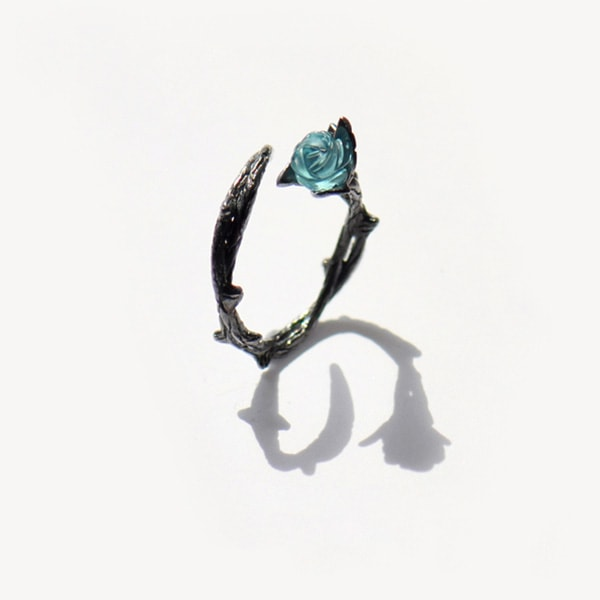 product image for Vintage Style Rose and Thorn Rings