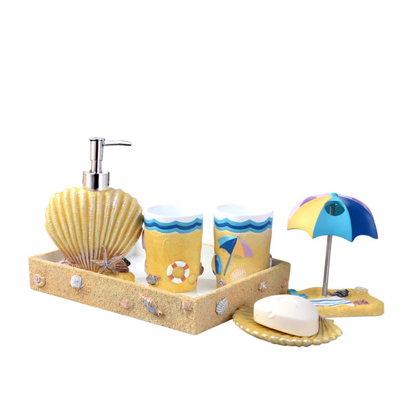 product image for Day At The Beach Bathroom Set