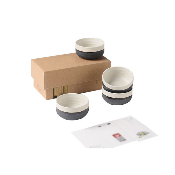 Modern Zen Style Ceramic Bowl Set