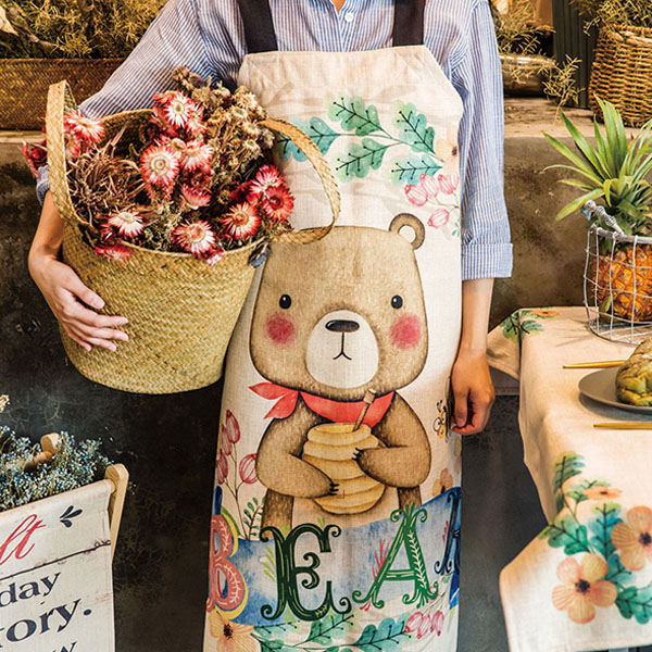 Forest Creatures Apron